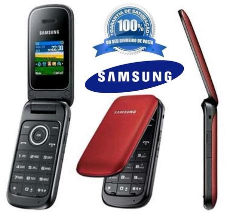 celular samsung e1272 2 chips letras grandes ideal p/ idosos