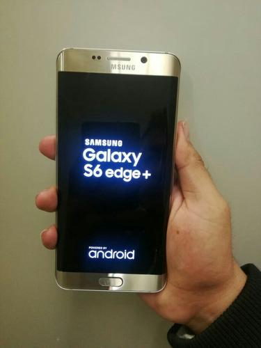 celular samsung edge s6 dorado en excelente estado