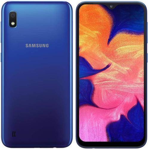 celular samsung galaxy a10 2gb 32gb blue single sim