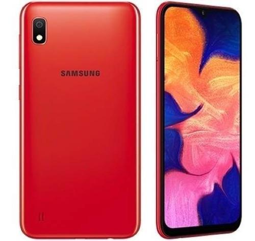 celular samsung galaxy a10 32gb rojo