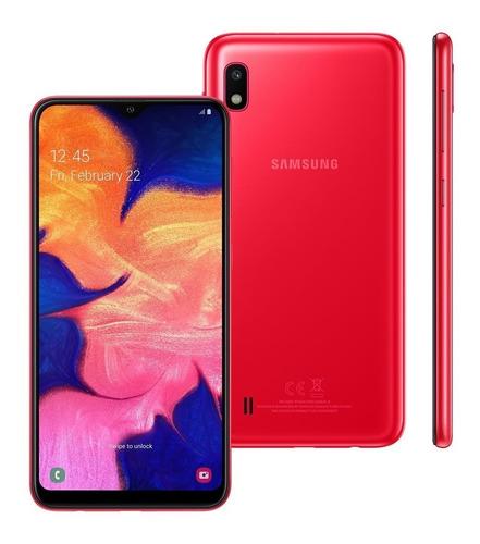 celular samsung galaxy a10 dual 32gb 2gb ram a105 vermelho