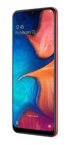 celular samsung galaxy a20 dual 32gb 3gb ram a205 vermelho