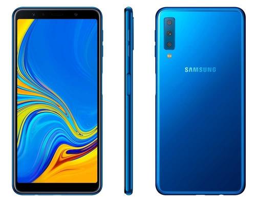 celular samsung galaxy a7 2018 128gb 24mpx 4g lte 4ram octac