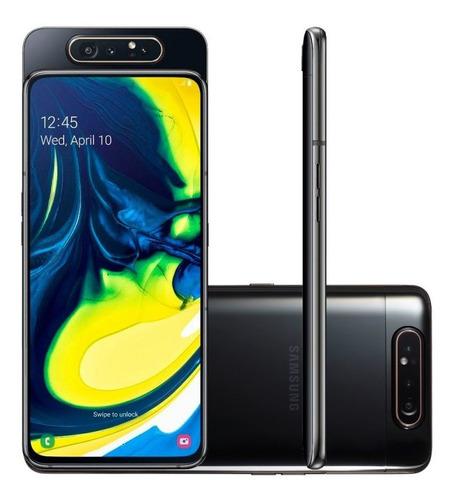 celular samsung galaxy a80 128gb 8gb tela 6.7  câmera t