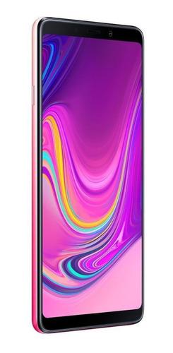celular samsung galaxy a9 128gb 6gb 6.3  quad câmera rosa