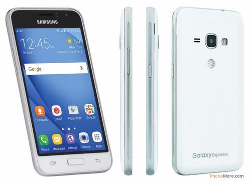 celular samsung galaxy express 3 j1 8gb nuevo 4g + baston