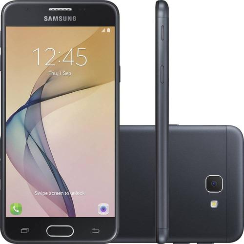 celular samsung galaxy j5 prime 32gb biometria 13mp +brinde