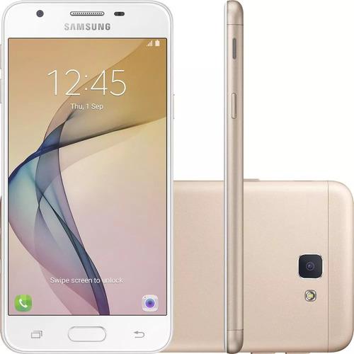 celular samsung galaxy j5 prime dourado 32gb  dual 4g