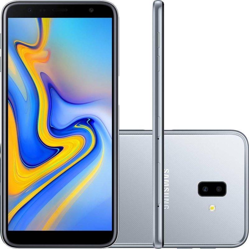 879dfd8023 Celular Samsung Galaxy J6 Plus Prata 32gb 3gb Ram Tela 6 - R  889