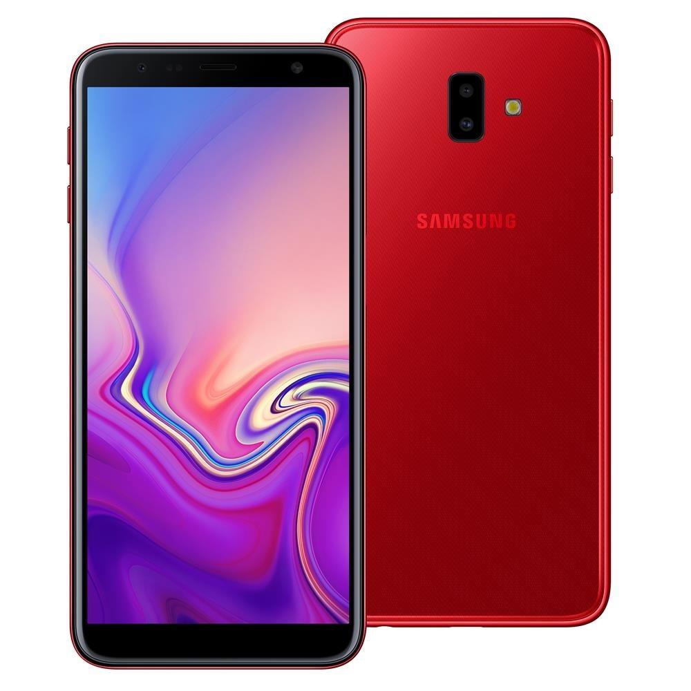 ed020a41c8 celular samsung galaxy j6 plus vermelho 32gb 3gb ram tela 6. Carregando  zoom.