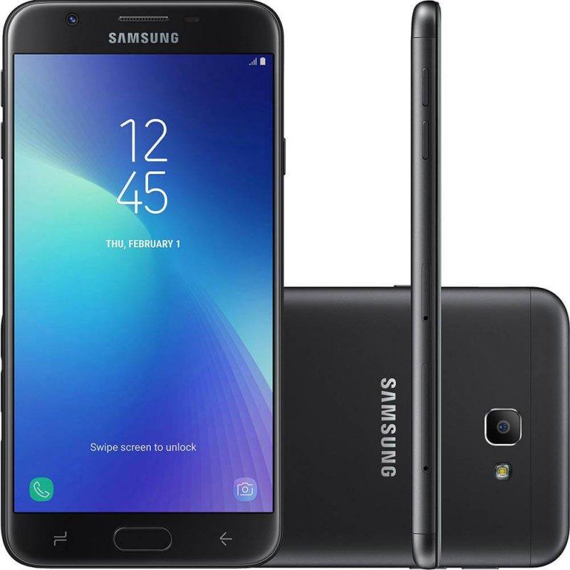 11759bdd8 celular samsung galaxy j7 prime 2 preto 32gb dual chip c. Carregando zoom.
