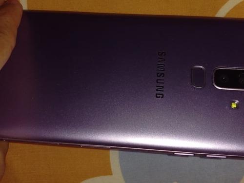 celular samsung galaxy j8 usado color morado claro