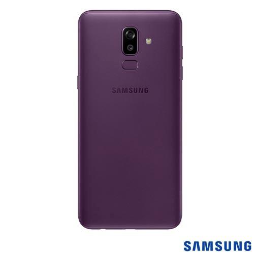 celular samsung galaxy j8 violeta tela 6  4g 64gb sm-j810mz