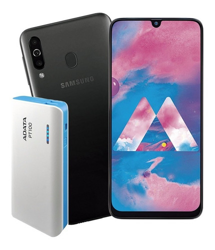 celular samsung galaxy m30 64gb 4gb 3 camara + power bank