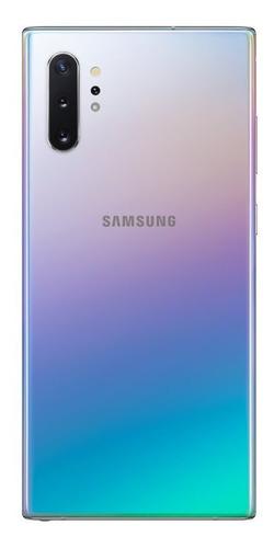 celular samsung galaxy note 10 plus prata 256gb 12gb ram