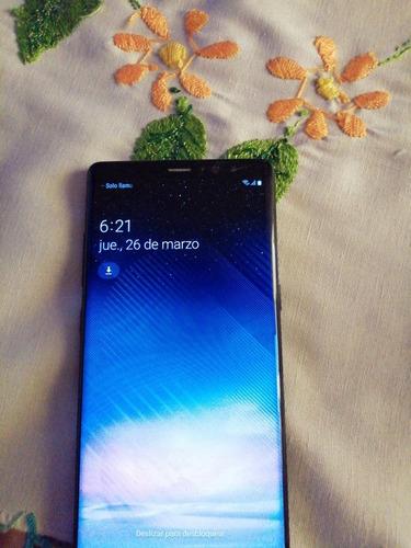 celular samsung galaxy note 8 128 gb con detalle