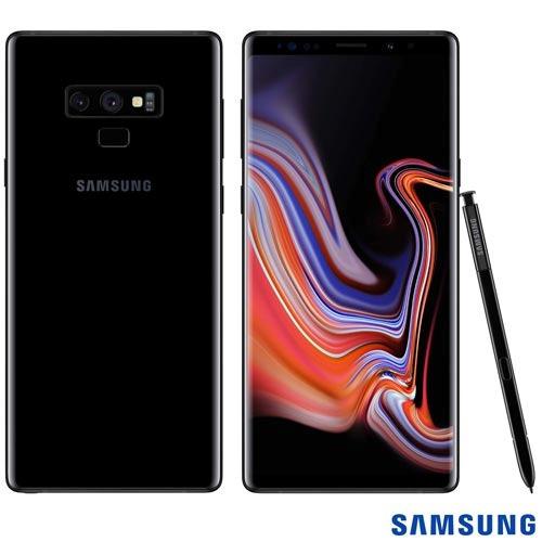 celular samsung galaxy note9 preto tela 6,4  4g 128gb n9600