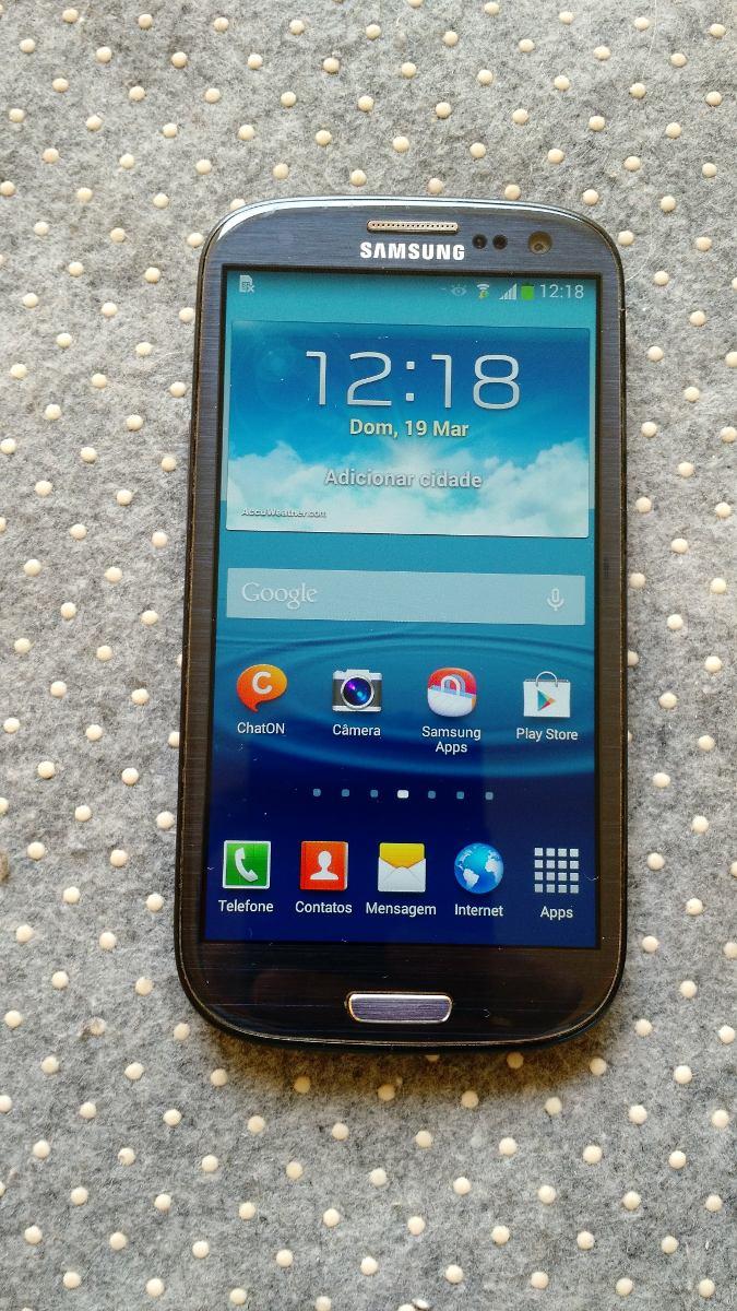 Celular Samsung Galaxy S3 Gt-i9300 16gb Usado Azul