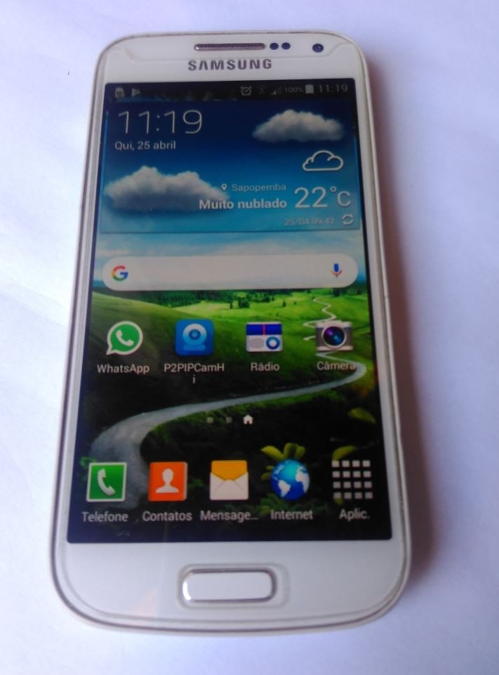 27dfc6b51 celular samsung galaxy s4 mini duos gt i9192 100% funcional. Carregando  zoom.