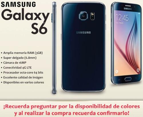 celular samsung galaxy s6 32gb 4g lte octacore libre