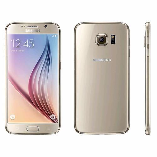 celular samsung galaxy s6 32gb dorado caja sellada