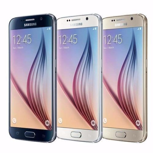 celular samsung galaxy s6 32gb g920v dorado - nuevo - ce184