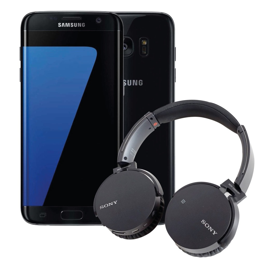 511fb9fca6c Celular Samsung Galaxy S7 Edge 32gb Negro + Diadema - $ 6,699.00 en ...
