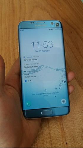 celular samsung galaxy s7 edge detalle pantalla esquina