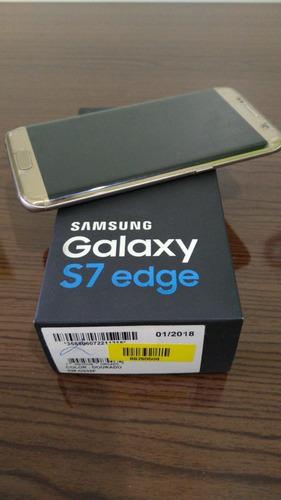 celular samsung galaxy s7 edge dourado