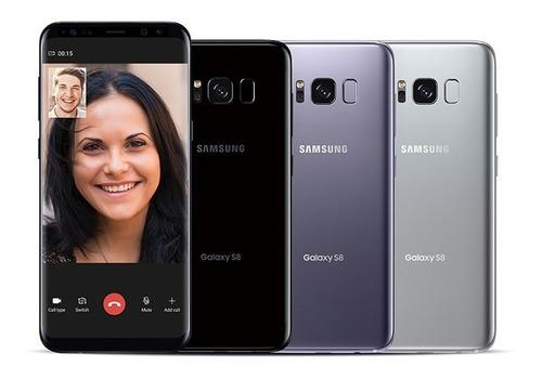 celular samsung galaxy s8 64gb caja + wireless grado b