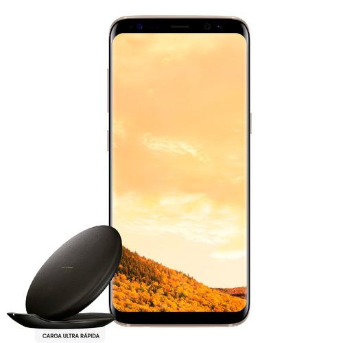 celular samsung galaxy s8 edge liberado+wireless charger