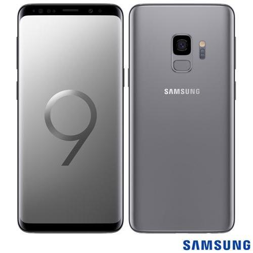 celular samsung galaxy s9 cinza tela 5,8  4g 128gb 12mp g960