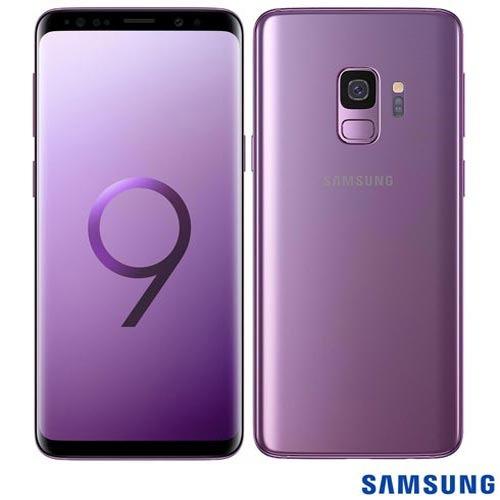 celular samsung galaxy s9 violeta tela 5,8  4g 128gb g960