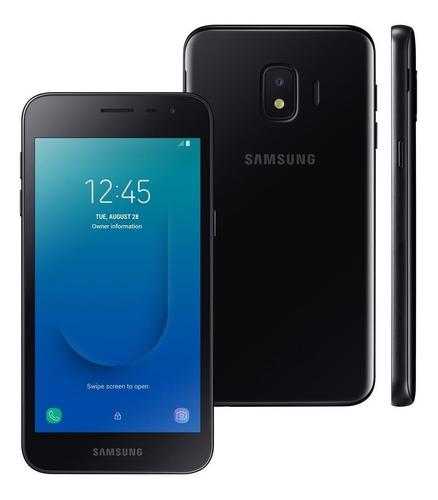 celular samsung j2 core preto 16gb 5  android 8.1 8mp 4g