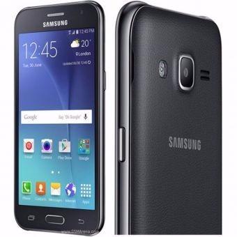 celular samsung  j2 prime negro 8gb dual sim y flash frontal