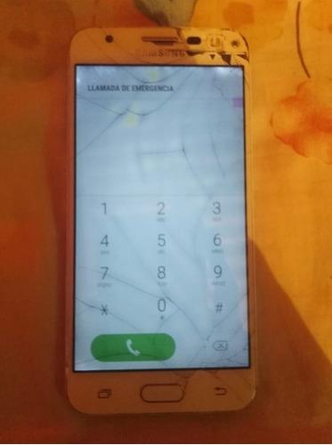 celular samsung j5 prime para repuestos tiene el táctil malo
