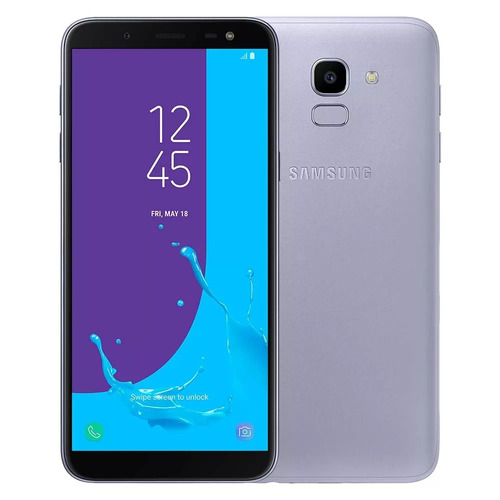 celular samsung j6 galaxy prata 32gb tela 5.6'' tv digital