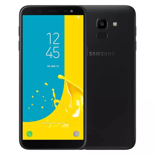 celular samsung j6 galaxy preto 64gb tela 5.6'' tv digital
