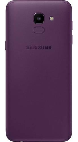 celular samsung j6 galaxy violeta 32gb tela 5.6'' tv digital