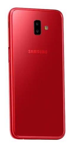 celular samsung j6 plus rojo