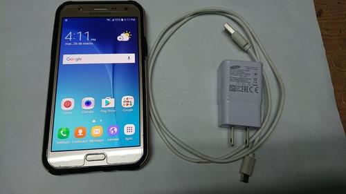 celular samsung j7 protector pantalla estuche,cargador. vhcf
