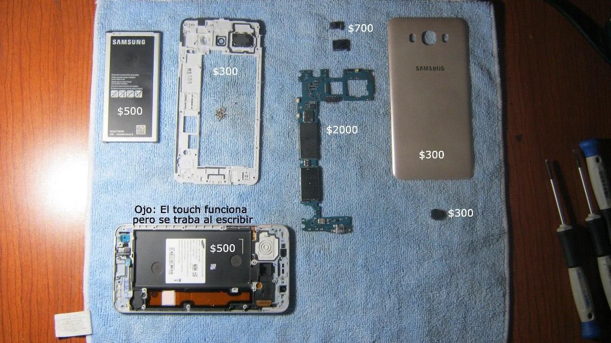 Celular Samsung J7 Sm-j710mn Por Partes - $ 2,500.00 en Mercado Libre
