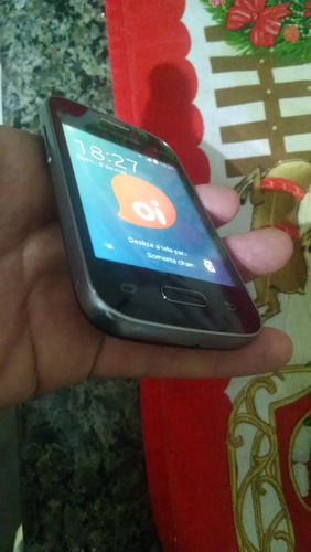 celular samsung pocket 2 preto/branco...r$285,00+frete