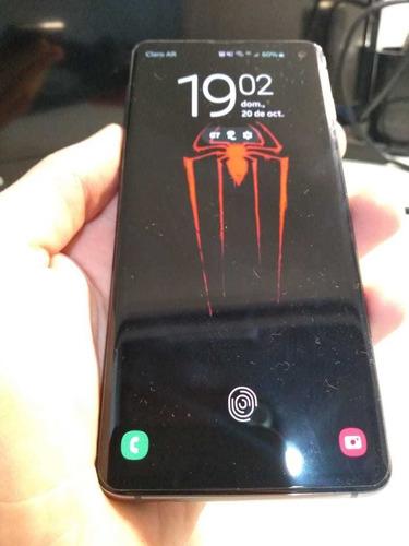 celular samsung s10 128gb libre/negro
