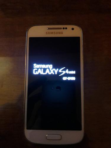 celular samsung s4 mini excelente estado completo a reparar