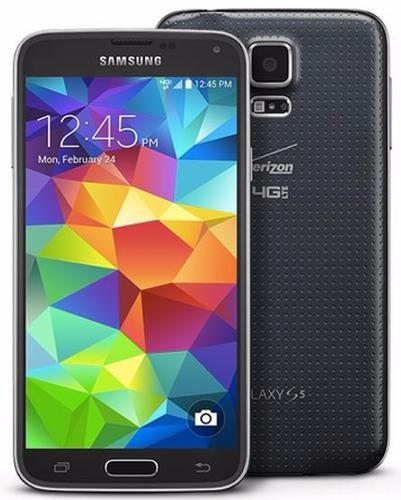 celular samsung s5 g900v negro funda gratis  - 16gb  ce60