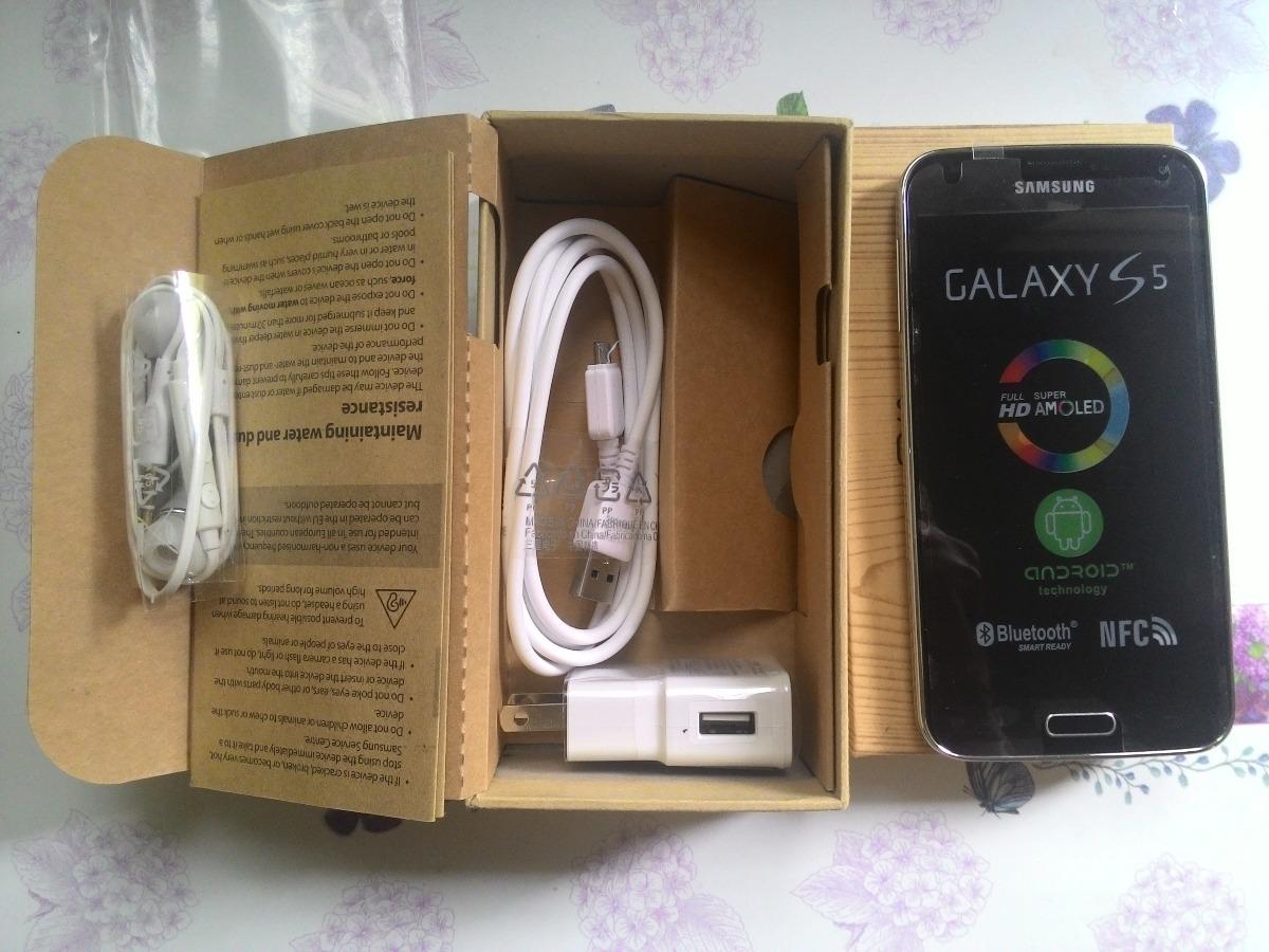 Celular Samsung S5preto 16gb Amaz  Uhd 4k, Lte