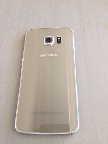 celular samsung s6 edge dorado 32gb