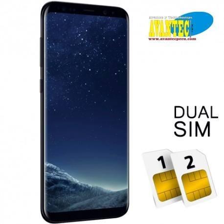 celular samsung s8 plus doble sim android 7 64gb caja tienda