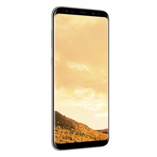 celular samsung s8 plus s8+ g955fd 64gb dorado maple 6.2